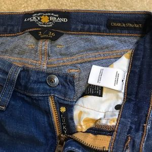 Lucky Brand Jeans - Lucky Brand Jeans Charlie Straight size 2/26